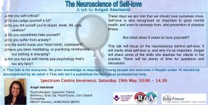 Neuroscience of Self-love image for Eventbrite